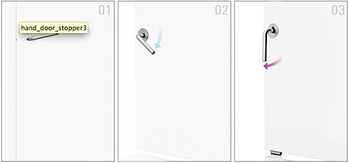 Hand Door Stopper 使い方