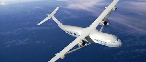ボーイング社天然ガス飛行機