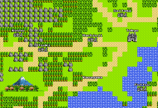 Google maps ドラクエ版