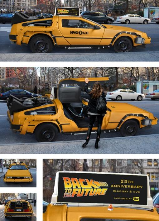 未来に行けるタクシー