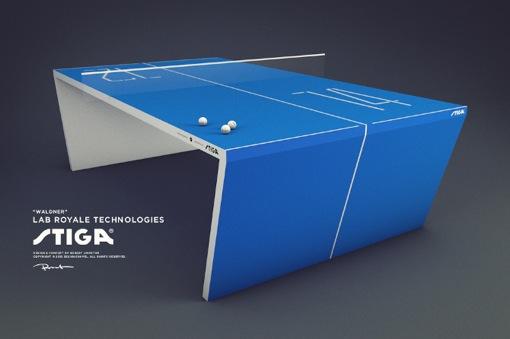 未来の卓球台