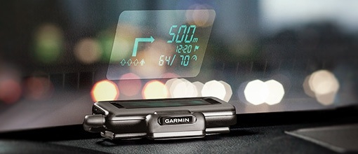 Garmin社のカーナビ「Head-Up Display」