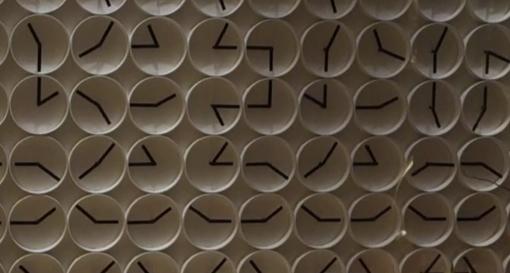 Ham Yard Hotelの時計