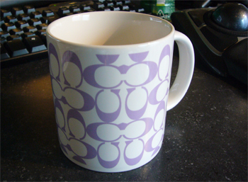 COACHのマグカップ